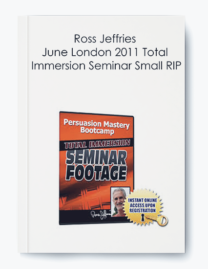 Ross Jeffries – June London 2011 Total Immersion Seminar Small RIP by https://koiforest.com/