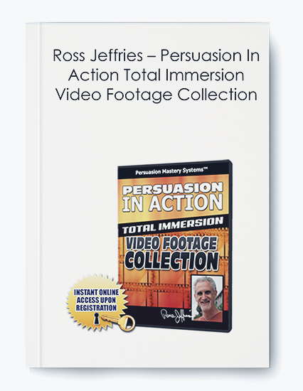 Ross Jeffries – Persuasion In Action Total Immersion Video Footage Collection by https://koiforest.com/