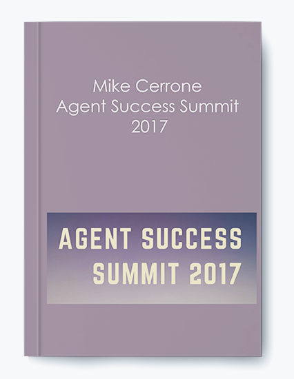 Agent Success Summit 2017 by Mike Cerrone by https://koiforest.com/
