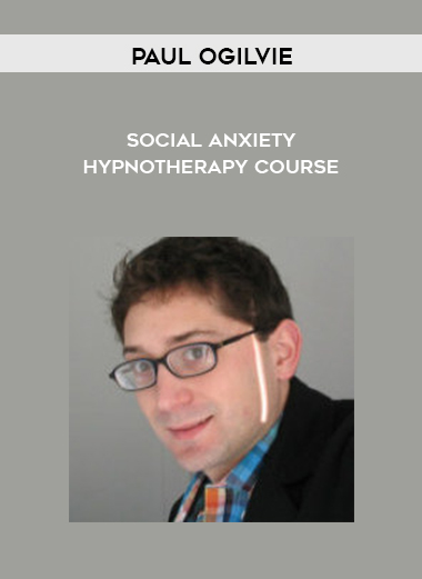 paul ogilvie - Social Anxiety Hypnotherapy course by https://koiforest.com/