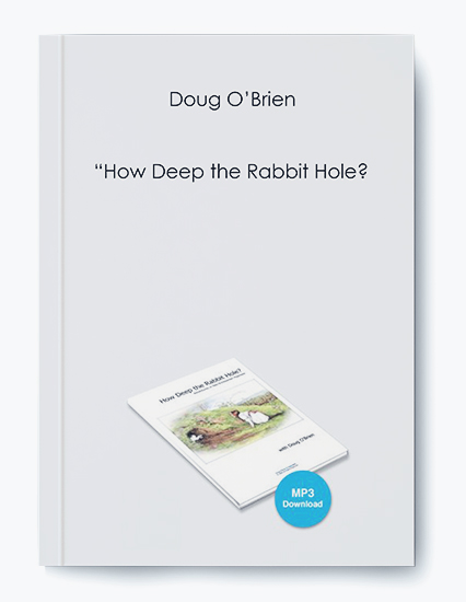 How Deep the Rabbit Hole by Doug O'Brien by https://koiforest.com/