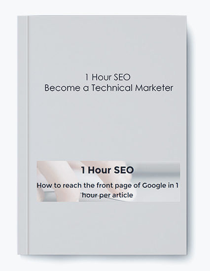 1 Hour SEO Become a Technical Marketer by https://koiforest.com/
