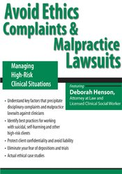 Avoid Ethics Complaints and Malpractice Lawsuits: Managing High-Risk Clinical Situations form https://koiforest.com/