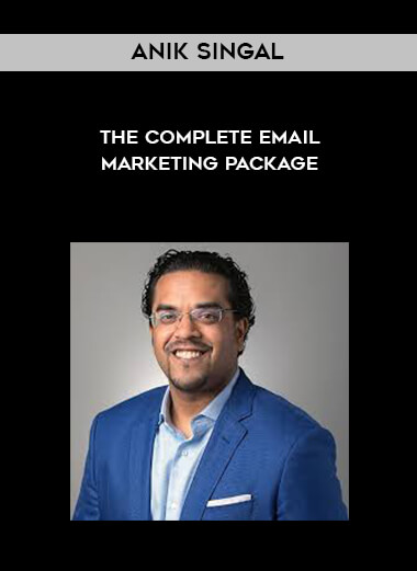 Anik Singal - The Complete Email Marketing Package form https://koiforest.com/