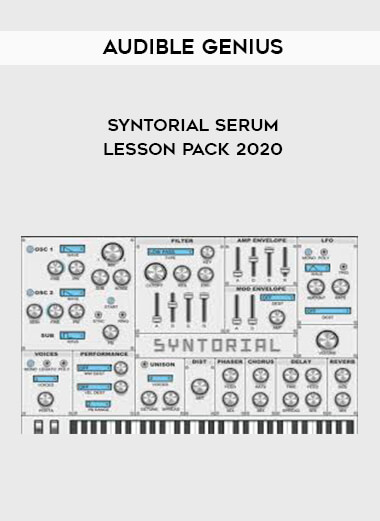 Audible Genius Syntorial Serum Lesson Pack 2020 form https://koiforest.com/