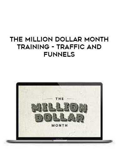 The Million Dollar Month Training - Traffic and Funnels form https://koiforest.com/