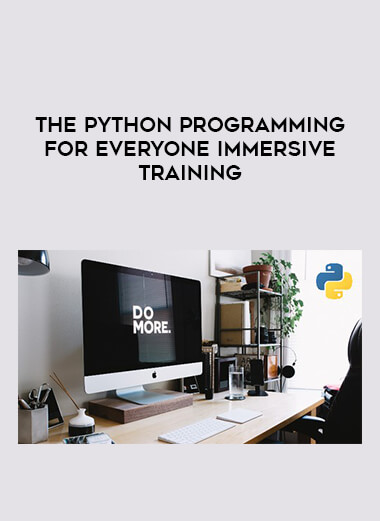 The Python Programming For Everyone Immersive Training form https://koiforest.com/