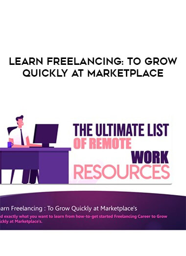 Learn Freelancing : To Grow Quickly at Marketplace's form https://koiforest.com/