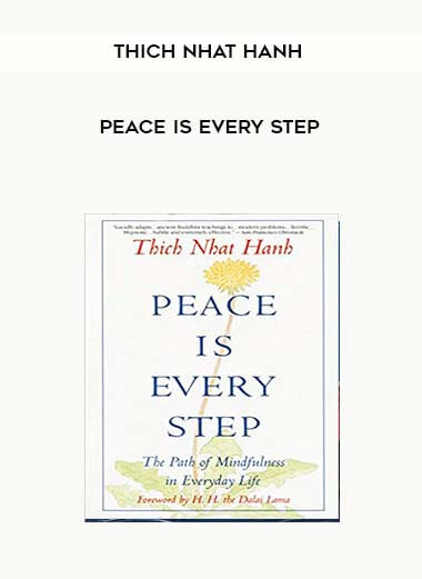 Thich Nhat Hanh - Peace Is Every Step form https://koiforest.com/