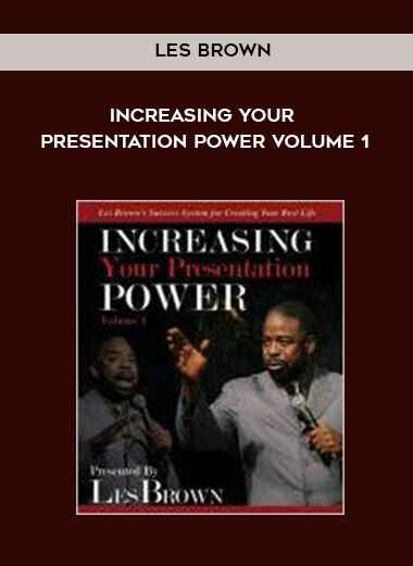 Les Brown - Increasing Your Presentation Power Volume 1 form https://koiforest.com/