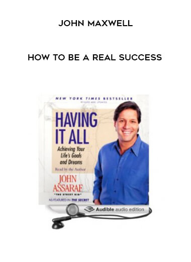 John Maxwell - How to be a real success form https://koiforest.com/