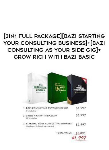 [3in1 Full package][Bazi STARTING YOUR CONSULTING BUSINESS]+[Bazi Consulting As Your Side Gig]+Grow Rich with Bazi Basic form https://koiforest.com/