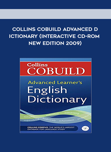 Collins COBUILD Advanced Dictionary (Interactive CD-ROM New edition 2009) form https://koiforest.com/