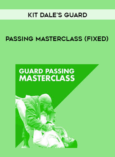 Kit Dale's Guard Passing Masterclass (Fixed) form https://koiforest.com/