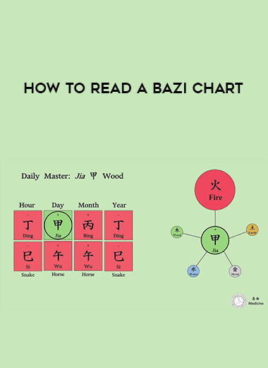 How to Read a bazi Chart form https://koiforest.com/
