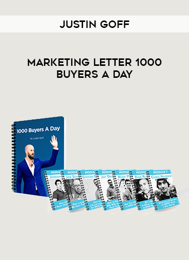 Justin Goff - Marketing Letter 1000 Buyers a Day form https://koiforest.com/
