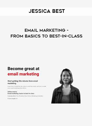 Jessica Best - Email Marketing - From Basics to Best-in-Class form https://koiforest.com/