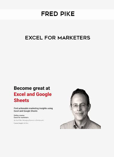 Fred Pike - Excel for Marketers form https://koiforest.com/
