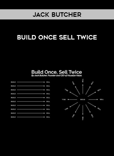 Jack Butcher - Build Once Sell Twice form https://koiforest.com/