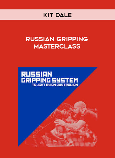 Russian Gripping Masterclass - by Kit Dale form https://koiforest.com/