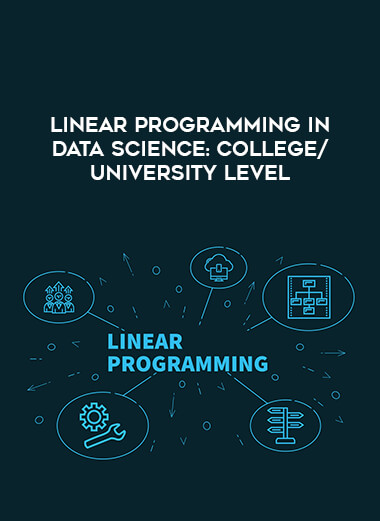 Linear Programming in Data Science: College/University Level form https://koiforest.com/