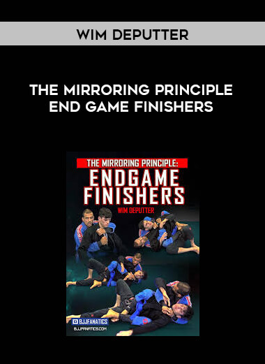 The Mirroring Principle End Game Finishers by Wim Deputter form https://koiforest.com/