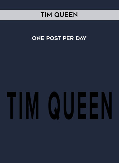 Tim Queen - One Post Per Day form https://koiforest.com/