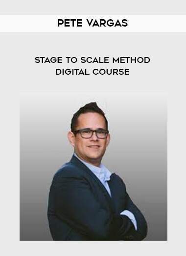 Pete Vargas - Stage to Scale Method Digital Course form https://koiforest.com/