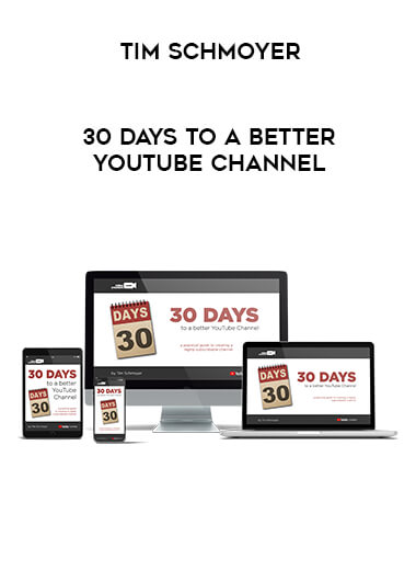 Tim Schmoyer - 30 Days To A Better YouTube Channel form https://koiforest.com/