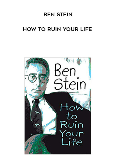 Ben Stein - How to Ruin Your Life form https://koiforest.com/
