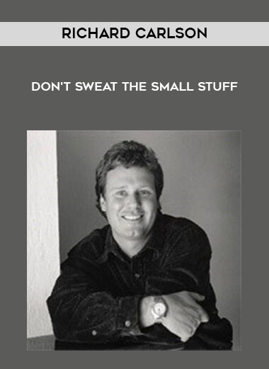 Richard Carlson - Don't sweat the small stuff form https://koiforest.com/