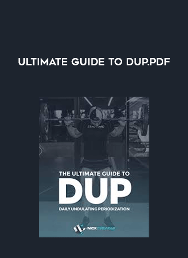Ultimate Guide to DUP.pdf form https://koiforest.com/