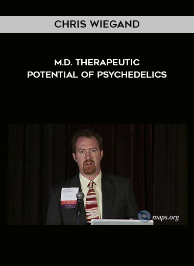 Chris Wiegand - M.D. - Therapeutic Potential Of Psychedelics form https://koiforest.com/