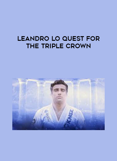 Leandro Lo Quest for the Triple Crown form https://koiforest.com/