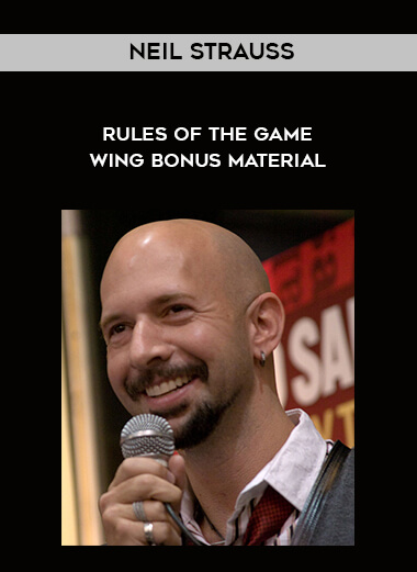 Neil Strauss - Rules of the Game Wing Bonus Material form https://koiforest.com/