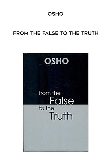 Osho - From the False to the Truth form https://koiforest.com/