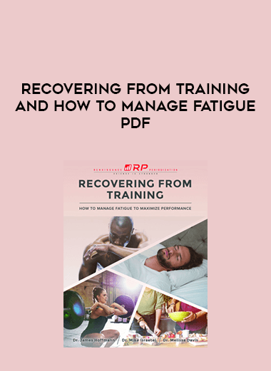 Recovering from training and how to manage fatigue pdf form https://koiforest.com/