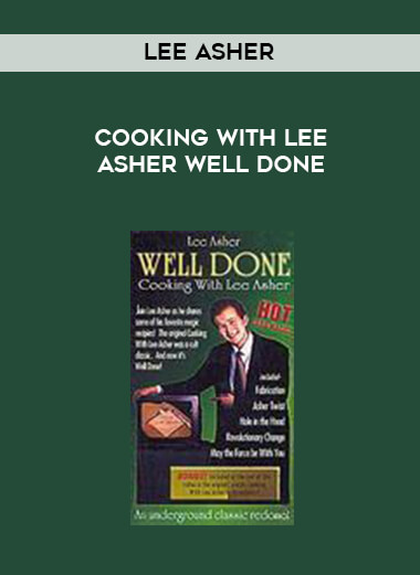 Lee Asher - Cooking with Lee Asher Well Done form https://koiforest.com/