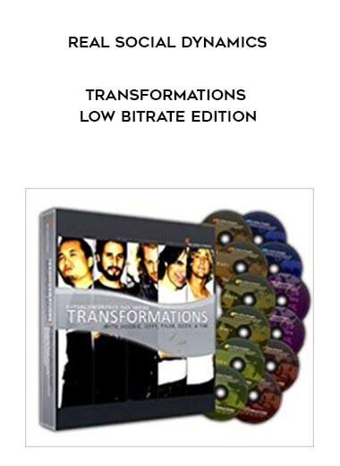 Real Social Dynamics - Transformations Low Bitrate Edition form https://koiforest.com/