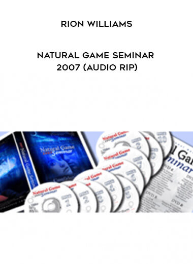 Rion Williams - Natural Game Seminar 2007 (Audio Rip) form https://koiforest.com/