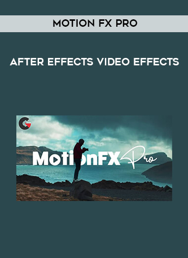 Motion FX Pro - After Effects Video Effects form https://koiforest.com/
