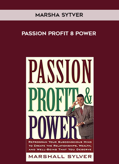 Marsha Sytver - Passion Profit 8 Power form https://koiforest.com/
