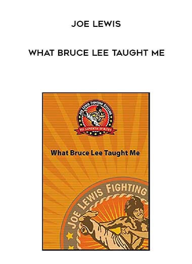 Joe Lewis - What Bruce Lee Taught Me form https://koiforest.com/