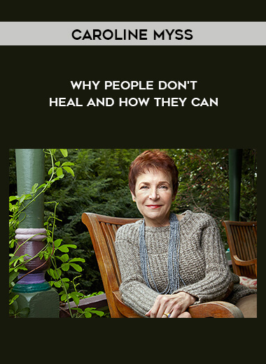 Caroline Myss - Why People Don't Heal and How They Can form https://koiforest.com/