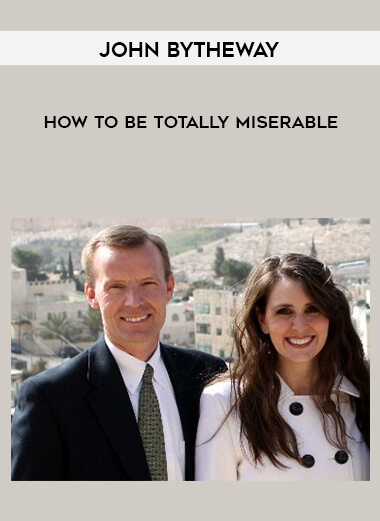 John Bytheway - How to be Totally Miserable form https://koiforest.com/