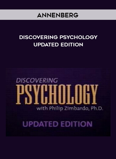Annenberg - Discovering Psychology - Updated edition form https://koiforest.com/