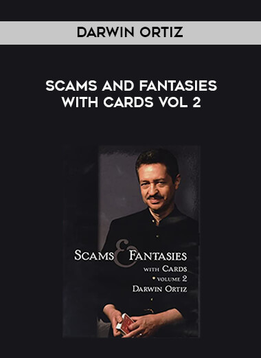 Darwin Ortiz - Scams and Fantasies with Cards Vol 2 form https://koiforest.com/