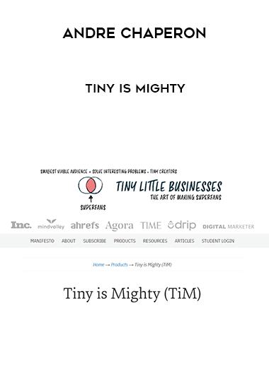 Andre Chaperon - Tiny is Mighty form https://koiforest.com/
