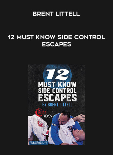 12 Must Know Side Control Escapes by Brent Littell form https://koiforest.com/