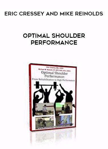 Optimal Shoulder Performance - Eric Cressey and Mike Reinolds form https://koiforest.com/